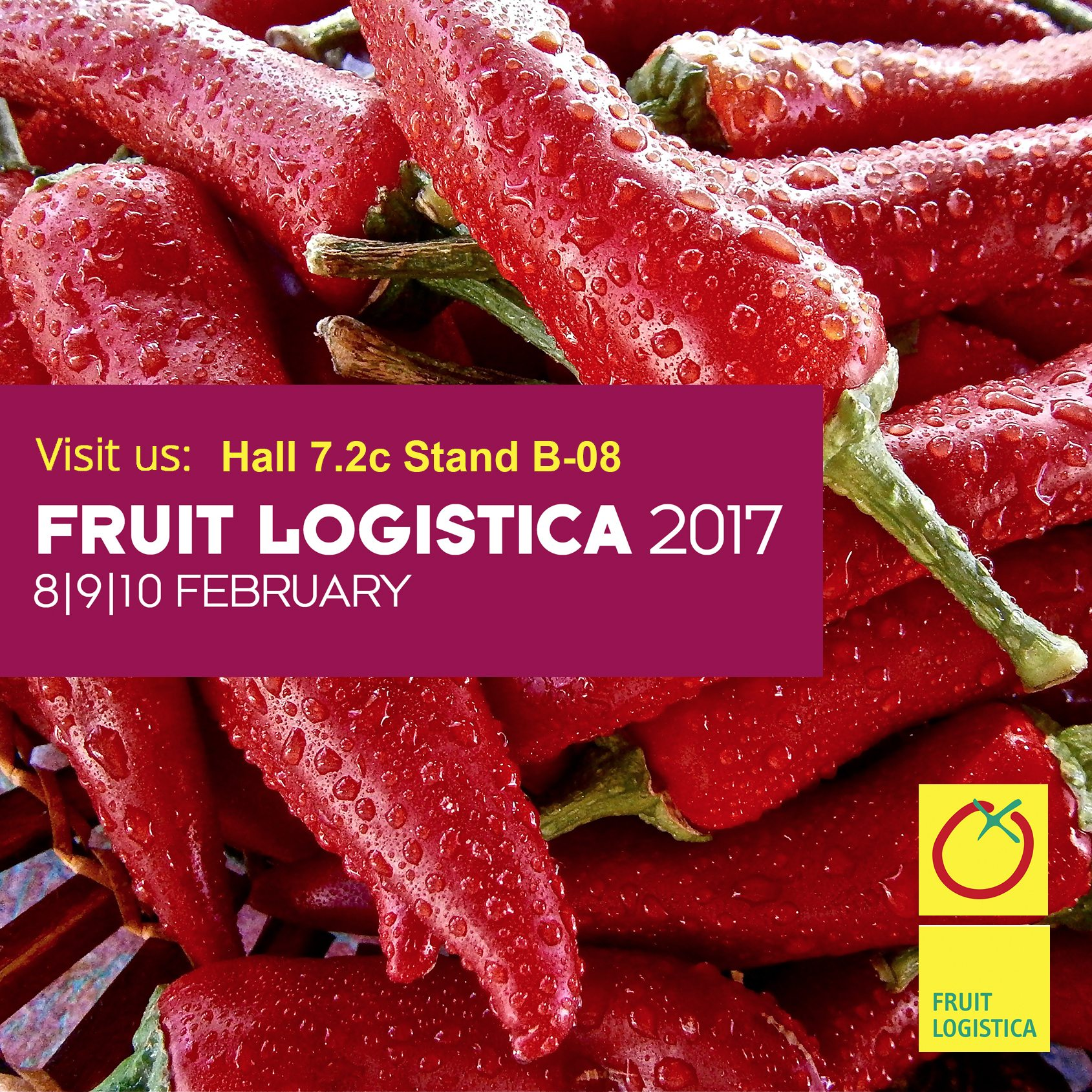 jdm food fruit logistica