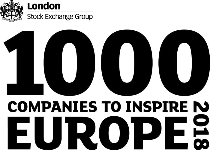 1000 top companies to inspire Europe