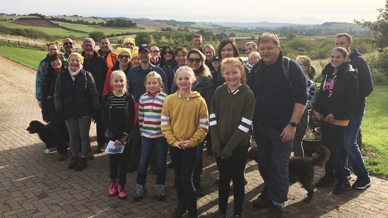 bbc children in need ramble countryfile
